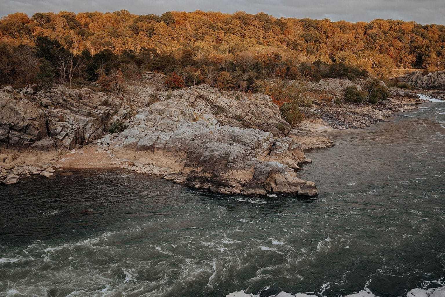 The Potomac River at Great Falls National Park