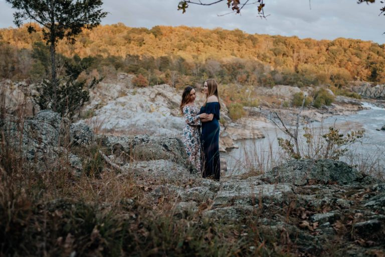 Great Falls Park Engagement Photos