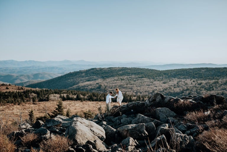 Grayson Highlands State Park: The Best Place For Your Blue Ridge Mountain Elopement